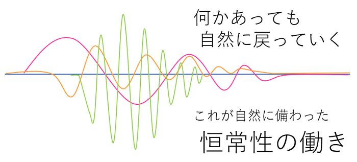 恒常性の図