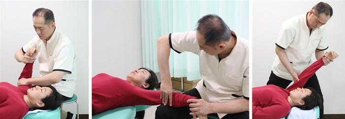 腱鞘炎の施術